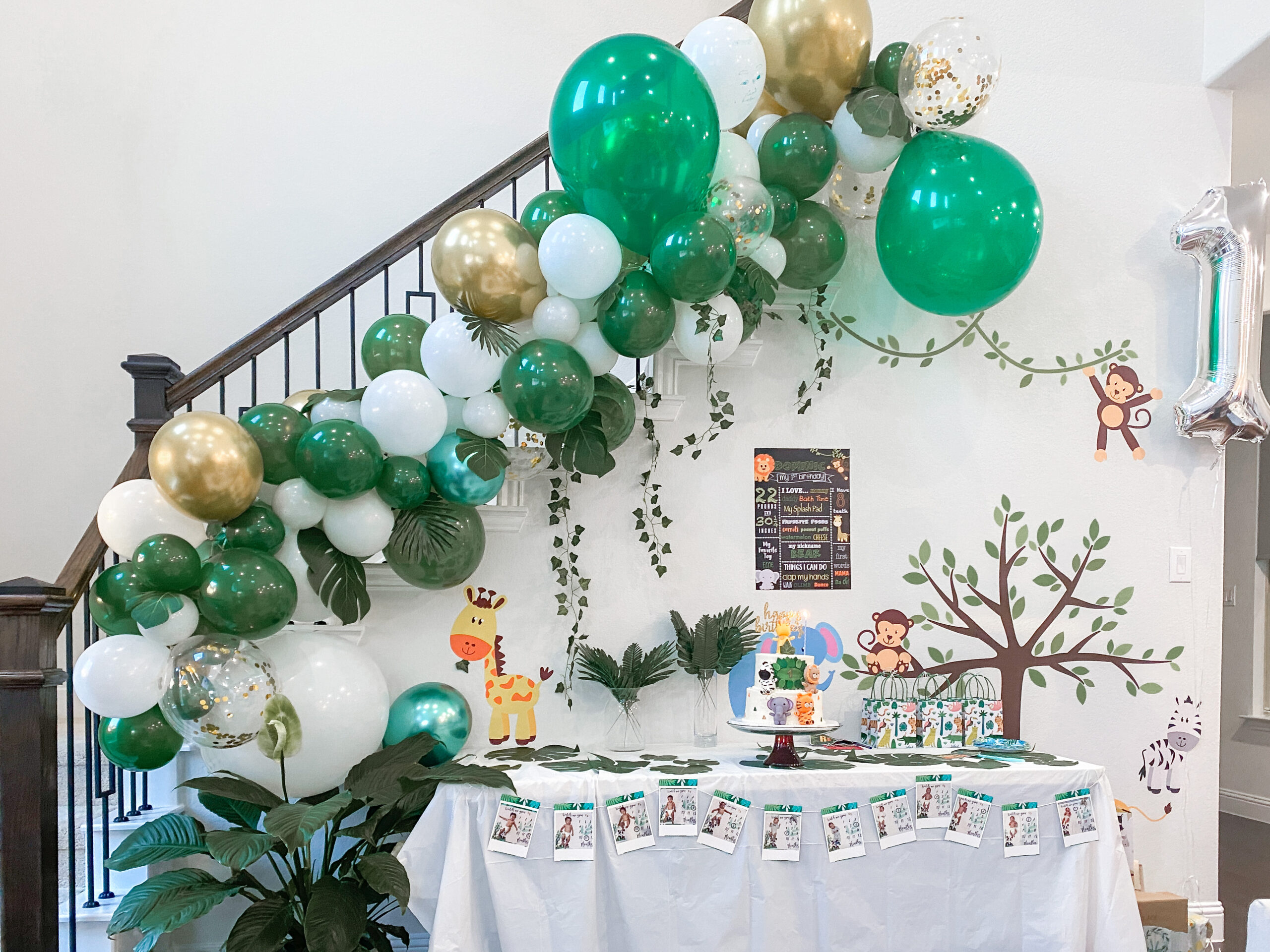 How To Make An Easy Balloon Garland Collectively Sophisticated Ish