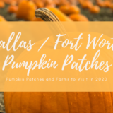 Dallas/Fort Worth Pumpkin Patches to visit this autumn